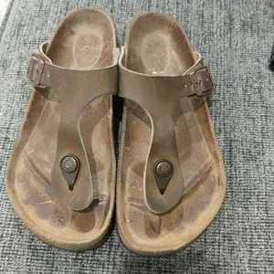 Birkenstock Gizeh light brown